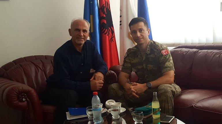Në PDK-në e Gjilanit qëndroi për vizitë komandati i LMT-së së KFOR-it. Albajrak
