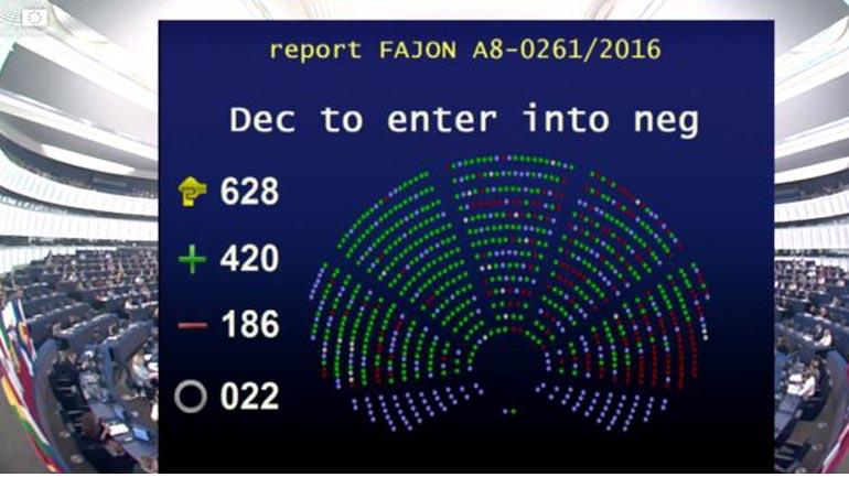 Parlamenti Evropian votoi pro liberalizimit të vizave