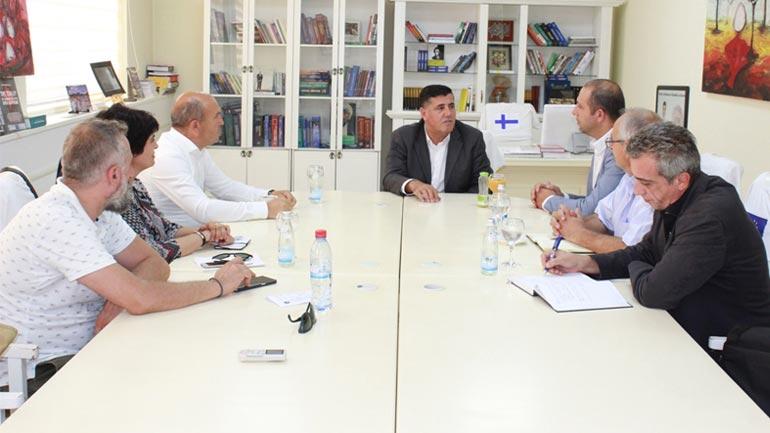 Haziri inicon takimin e parë për bashkëpunim ndërkufitar mes Likovës dhe Novobërdës