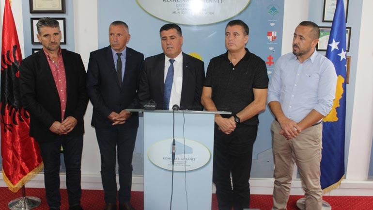 Kryetari Haziri mbledh në Gjilan në takim të rregullt kryetarët e Kosovës lindore dhe të Mitrovicës