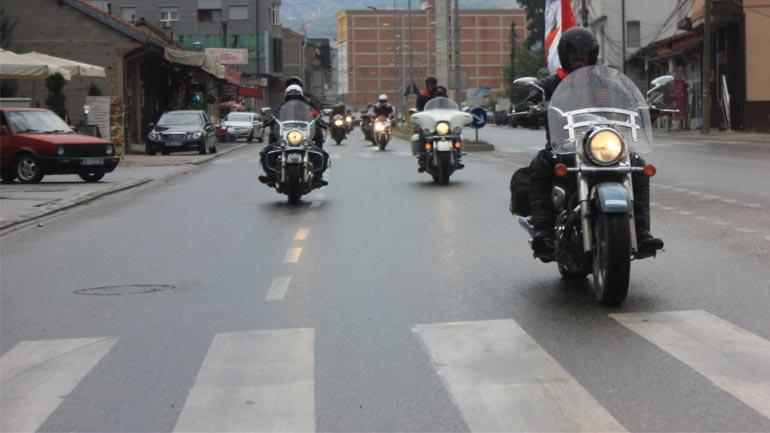 Aksident trafiku në mes të dy motoçikletave