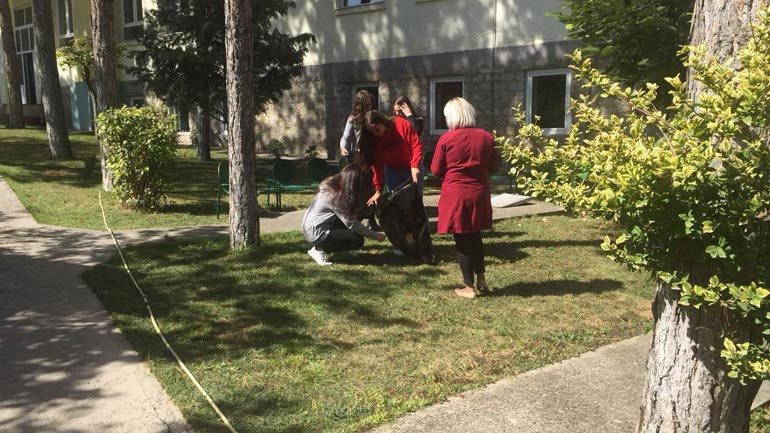 Nxënësit e Gjilanit po e vazhdojnë aksionin për pastrimin e ambientit