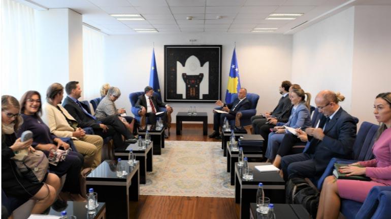 Haradinaj: Vota pro kosovarëve është votë pro qytetarëve europian