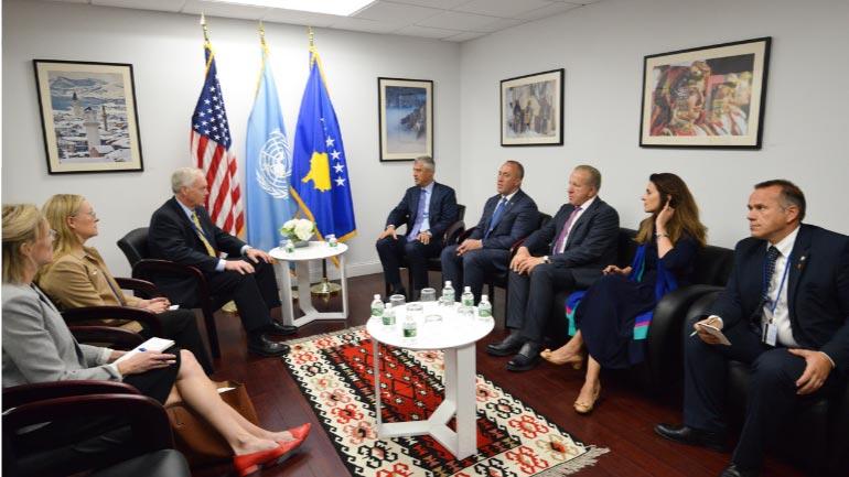Haradinaj: ShBA-të, partner i vendit në të gjitha fazat e shtetndërtimit