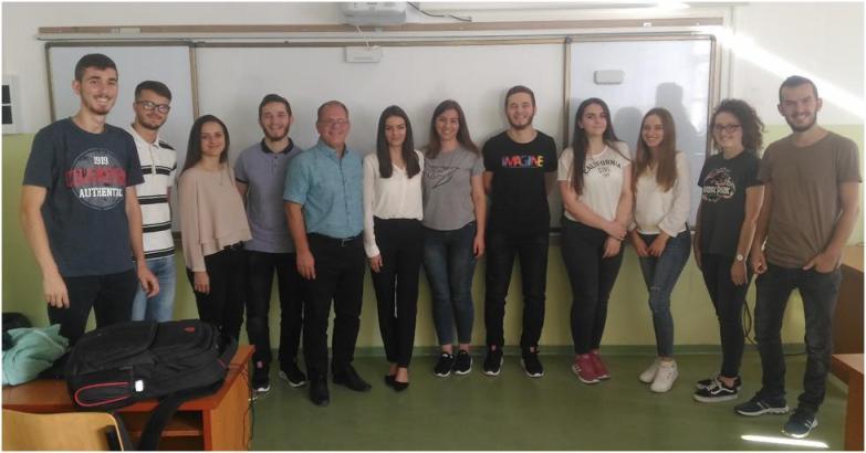 Studentë dhe profesorë të UKZ-së përfitues të programit për zhvillimin e shkathtësive ndërmarrëse nga projekti REBUS