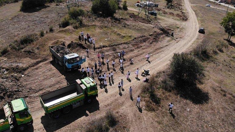 Kamenicë: Përfundon pastrimi i zonës së parë