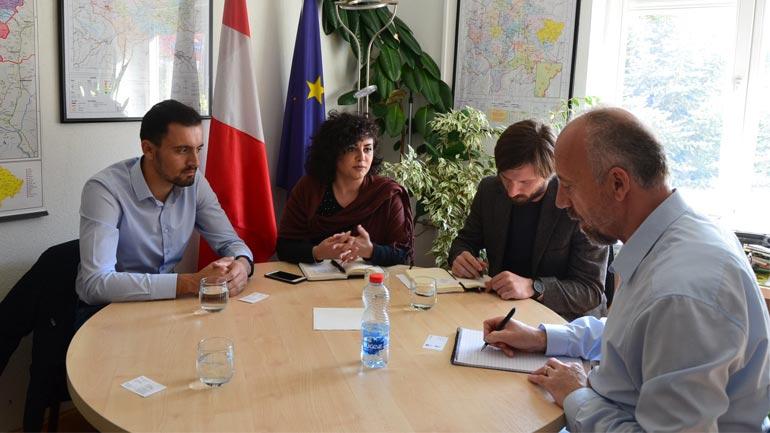 Diskutojnë për mundësitë e bashkëpunimit në fushën e zhvillimit ekonomik