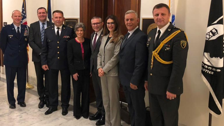 Delegacioni i FSK-së pritet në Washington DC nga senatorja Joni Ernst