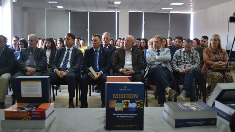 Në UKZ është promovuar libri Ekonomiksi i Parasë, Bankingut dhe Tregjeve Financiare