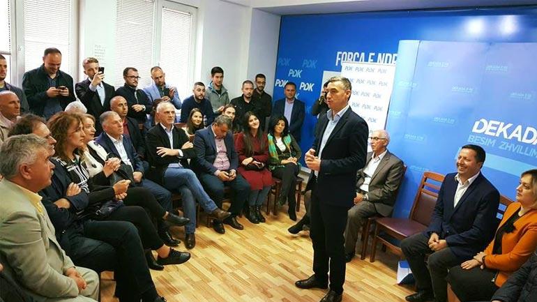 Garë zgjedhore jo vetëm për PDK-në, por edhe për Kosovën e Gjilanin