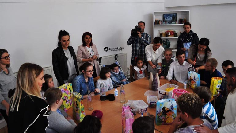 """Festivali """"N'rrotFest"""" surprizën fëmijët me nevoja të veçanta"""