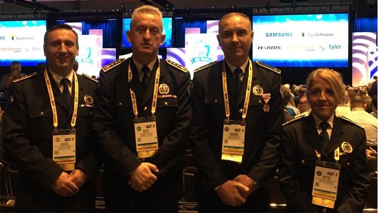 Drejtori i Përgjithshëm i PK-së po merr pjesë në konferencën e Asociacionit Ndërkombëtar të Shefave të Policisë