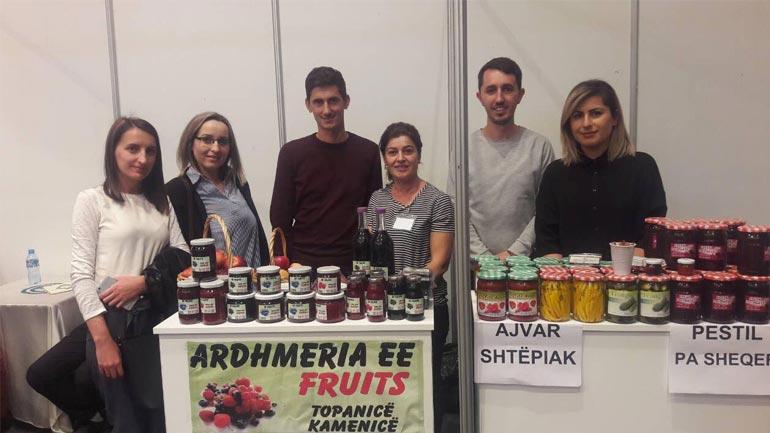 RESI dhe GLV mbështesin në panairin AGROKOS bizneset nga Kamenica