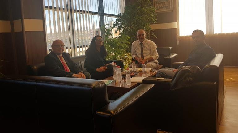 Ekspertë nga BE-ja vizituan Prokurorinë Themelore në Gjilan