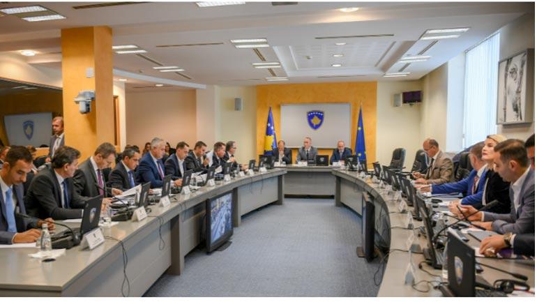 Qeveria informohet nga kryeministri Haradinaj për vizitën zyrtare në SHBA