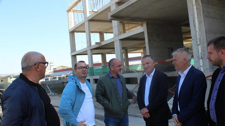 Ndërtimi i objektit të QKMF'së në Gjilan vlerësohet si zgjidhje për 50 vitet e ardhshme për shëndetësinë primare