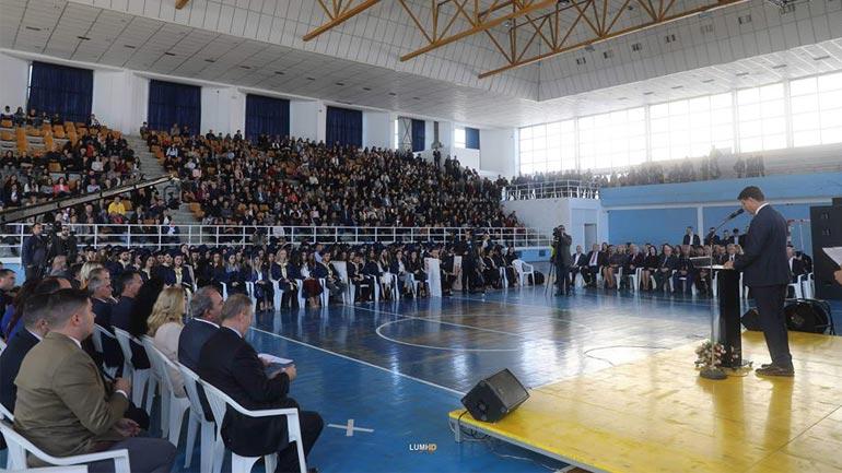 """U mbajt ceremonia e diplomimit të studentëve të Universitetit """"Kadri Zeka"""""""