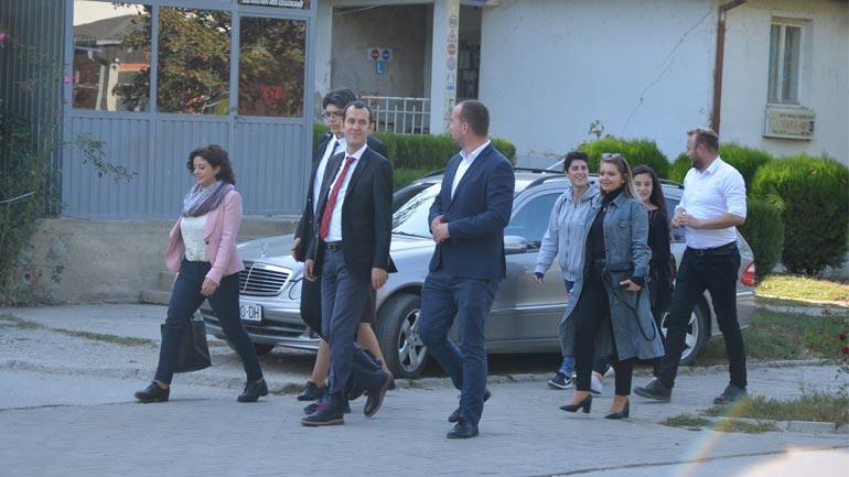 Kastrati pret në takim koordinatorin e organizatës TIKA, Hasan Burak Ceran
