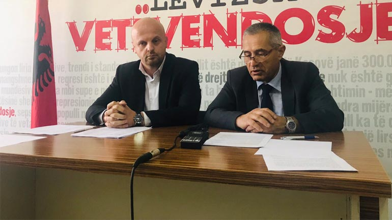 Vetëvendosje akuzon pushtetin në Gjilan për punësime të familjarëve e militantëve partiak