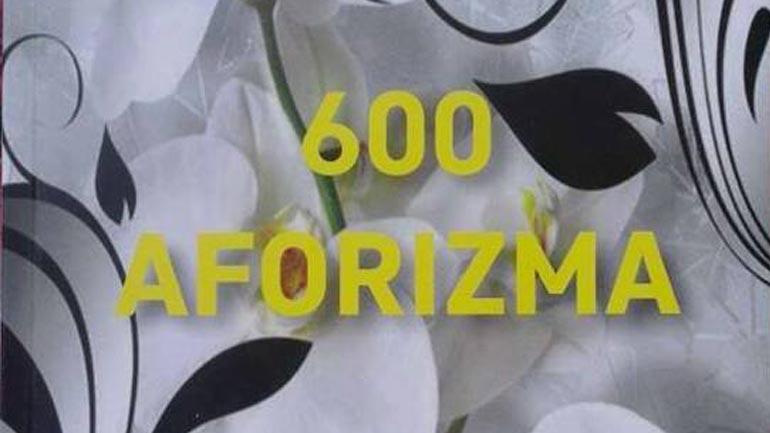 "Promovohet libri ""600 aforizma"" i autorit Halim Hasani"