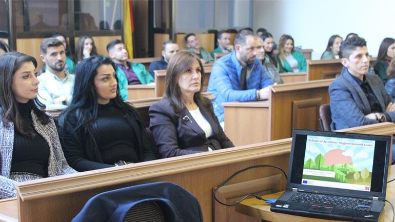 """Vitiasit njoftohen rreth projektit """"Të rinjtë në Agrobiznes-Regjioni Ekonomik Lindor"""""""