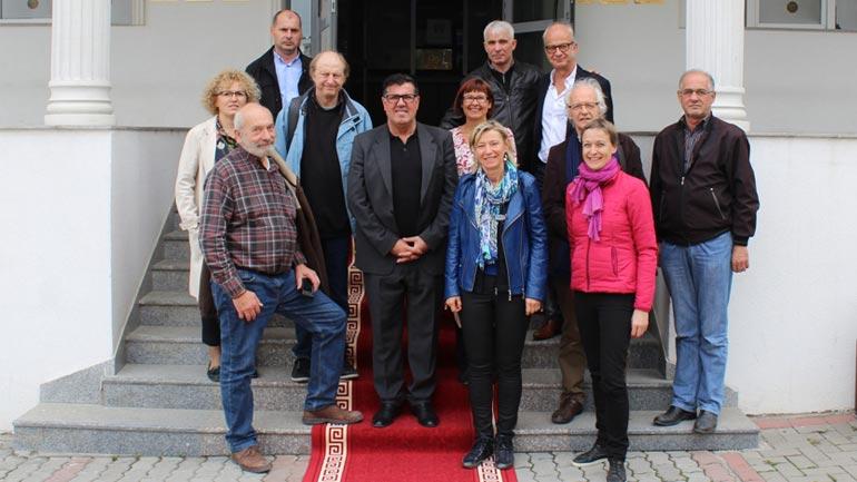 Një delegacion i Alsas nga Franca viziton Gjilanin