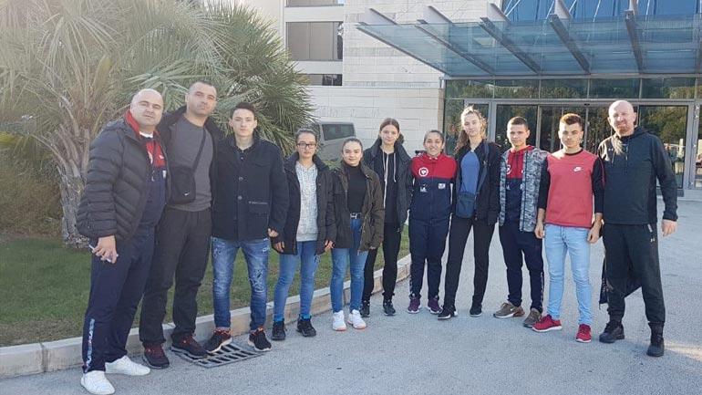 Karateistët gjilanas pjesëmarrës në Kampionatin Ballkanik të Karatesë