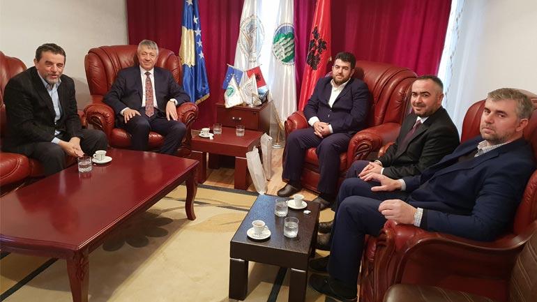 Dekani i FSI në Prishtinë vizitoi Këshillin e Bashkësisë Islame në Gjilan