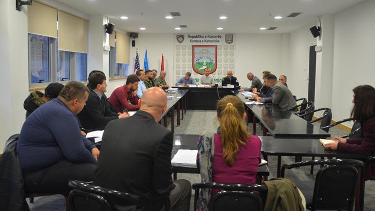 Kamenicë: Mbahet takimi i KKSB-së