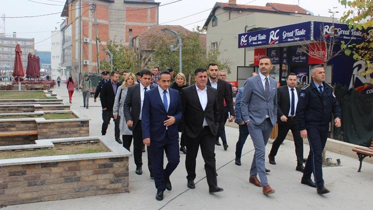 Haziri falënderon ministrat Matoshi e Lluka për zotimin e përkrahjes për Gjilanin