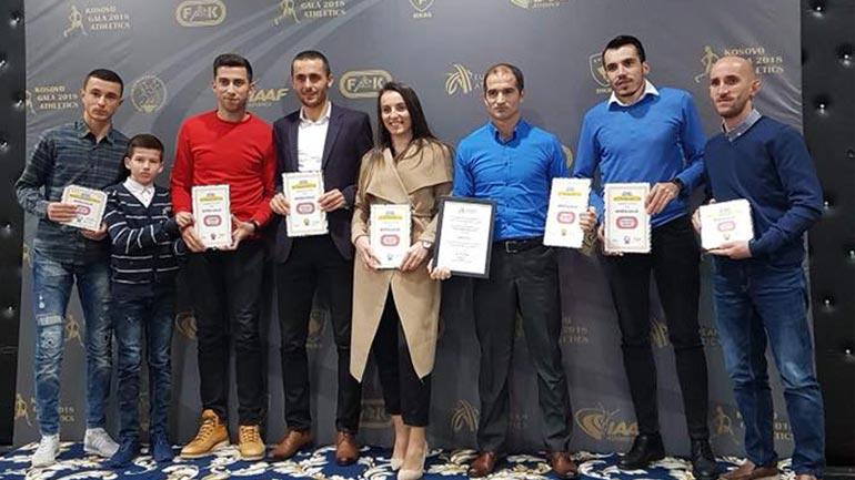 Kamenica shkëlqen në Gala mbrëmjen e organizuar nga Federata e Atletikës së Kosovës