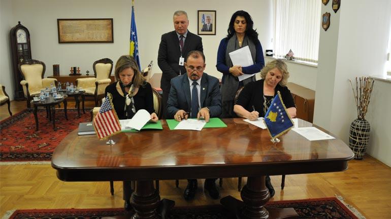 Ministria e Punëve të Brendshme ka pranuar një donacion nga Ambasada e SHBA-ve