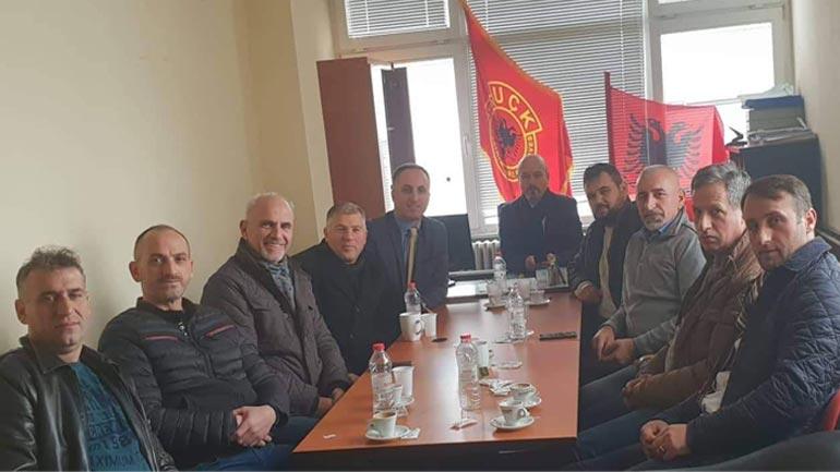 Arifi me bashkëpunëtorë vizitojnë OVL UÇK-në në Gjilan