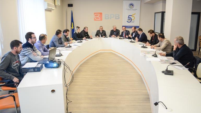 U prezantuan variantet e projektit ideor për nyjën N2/N25-3 në Ferizaj
