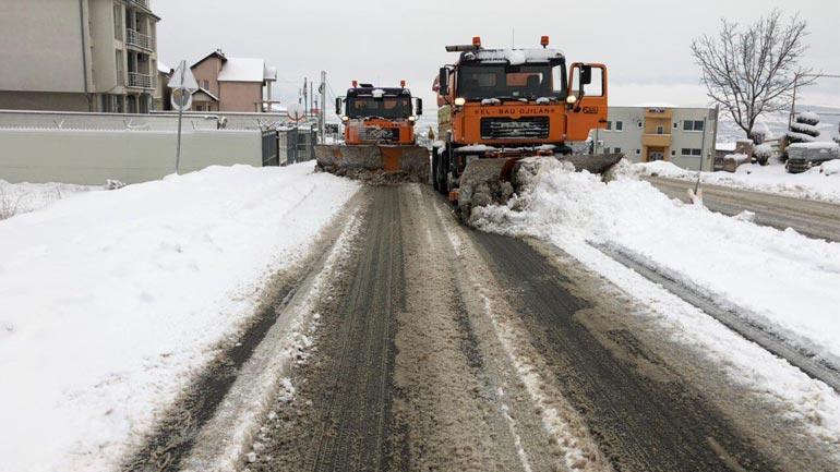 Korça: Të gjitha rrugët e Gjilanit janë të hapura dhe të kalueshme