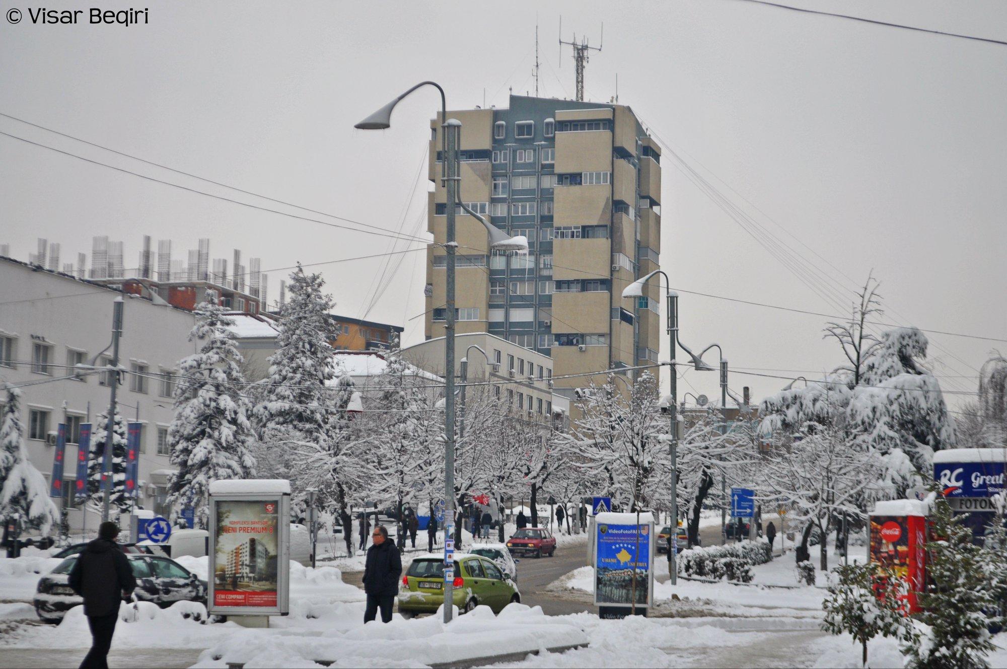 Moti në Kosovë, Gjilani pa reshje