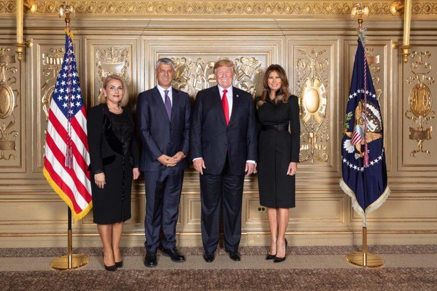 Presidenti Thaçi-Trumpit: Do të përmbahemi nga veprimet që vështirësojnë dialogun