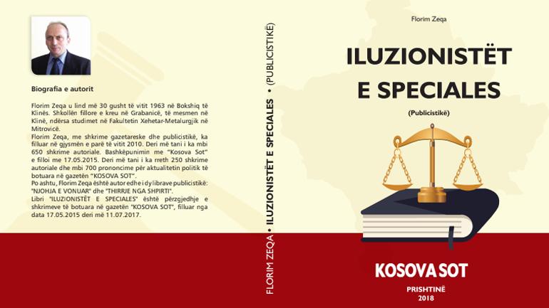 """ILUZIONISTËT E SPECIALES"", margaritari i radhës i autorit Florim Zeqa"