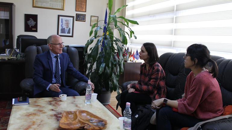 Kryetari i Gjykatës mirëpret bashkëpunimin e organizatës YIHR