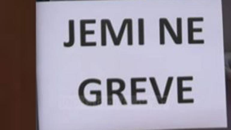 Shërbyesit civil, nga e marta grevë njëorëshe