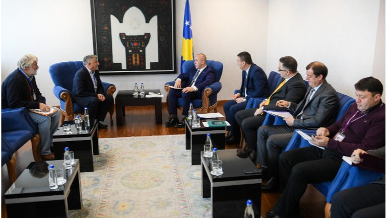 Kryeministri Haradinaj priti në takim përfaqësuesit e SBASHK-ut