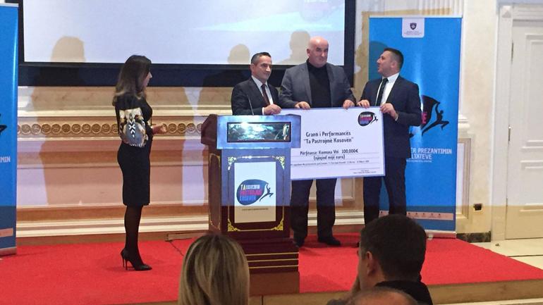 Vitia përfituese e grantit të performancës prej 100 mijë euro