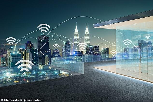 Sinjalet Wi-Fi burim i energjisë elektrike