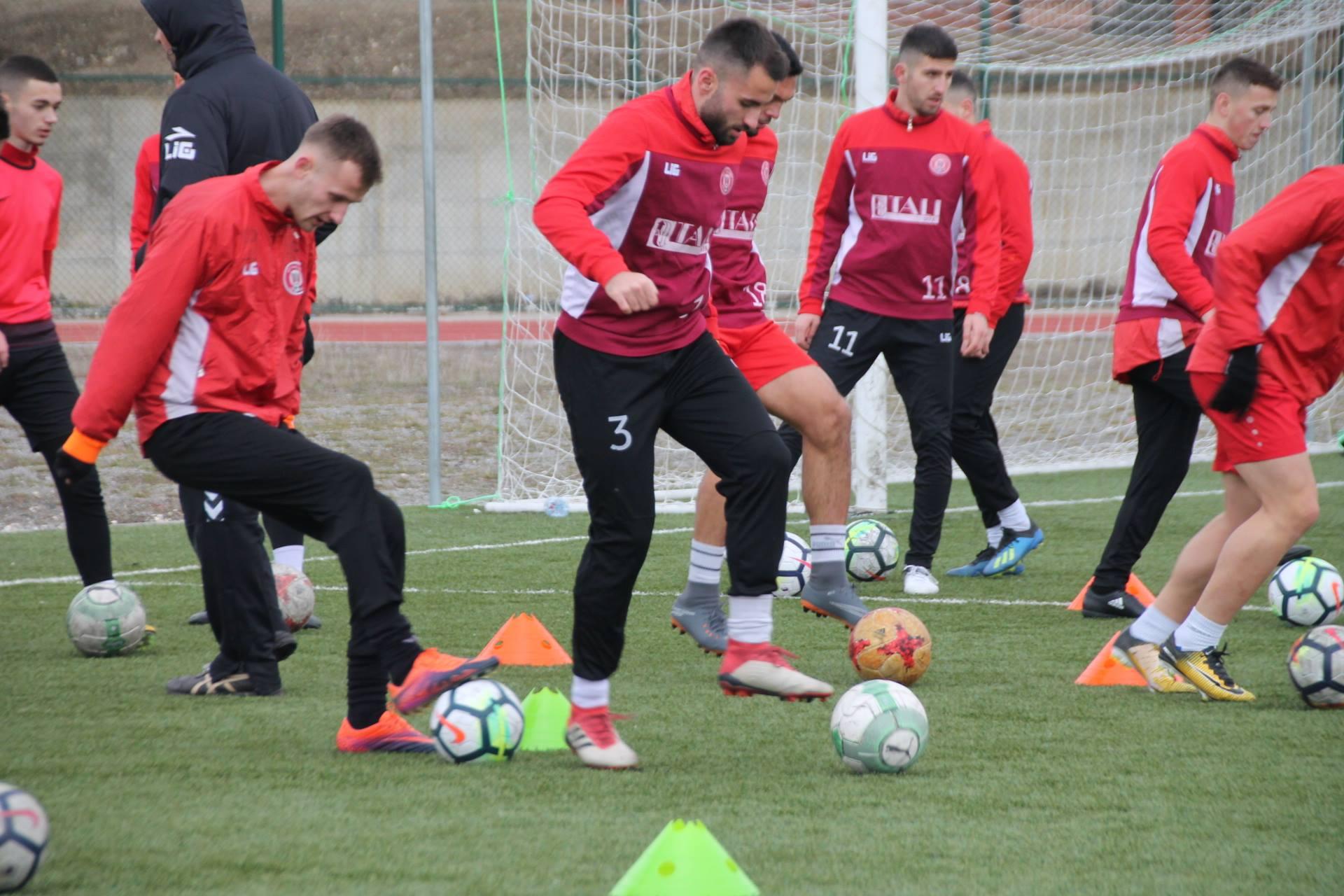 Gjilani vazhdon përgatitjet, gjendja e futbollistëve stabile