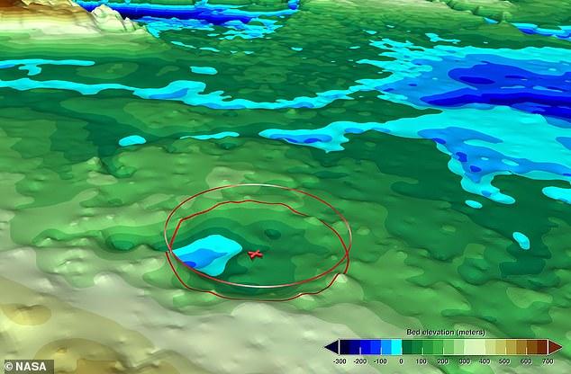 Në Grenlandë zbulohet akull i 'varrosur'