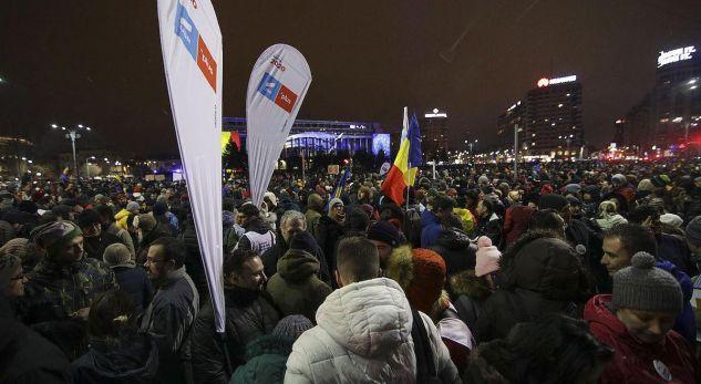 Protesta në Rumani, kundërshtohet ndryshimi i Ligjit mbi gjyqësorin