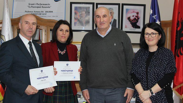 Nijazi Lutfiu dhe Filloreta Arifi vlerësohen punëtorët më të dalluar nga Ministria e Arsimit