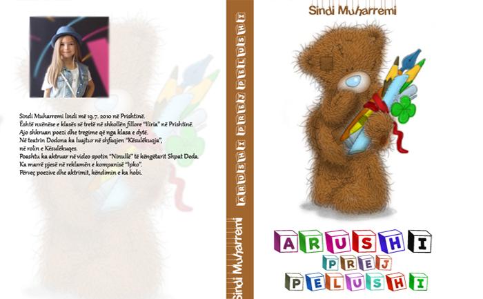 Tetëvjeçarja poezi për Dua Lipën në librin e saj të parë