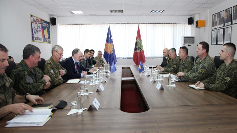 Ministri Berisha dhe komandant Rama pritën delegacionin e lartë të NATO-s