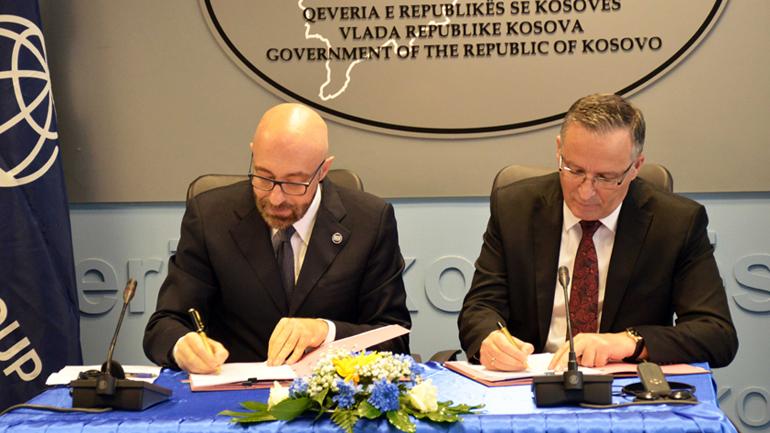 Nënshkruhet marrëveshja për Financimin e Projektit për Kadastër të Patundshmërisë dhe Infrastrukturës Gjeohapësinore
